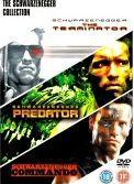 3 Film Box Set: Terminator / Predator / Commando (DVD) - £2.99 @ CD Wow