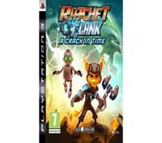 Ratchet & Clank: A Crack In Time For PS3 - £4.47 *Reserve & Collect* @ Currys & PC World