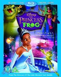 The Princess And The Frog Triple Pack [Blu-Ray+DVD+Digital Copy]  £8.99 @ bee