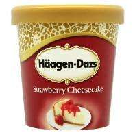 Haagen Dazs Strawberry Cheesecake Ice Cream 500ml £3 @ Asda