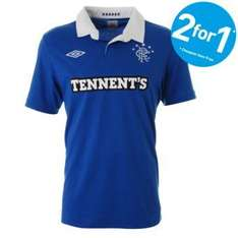 Rangers FC Football Shirts, Shorts & Socks - 2 for 1 - From £1.50 @ JJB Sports
