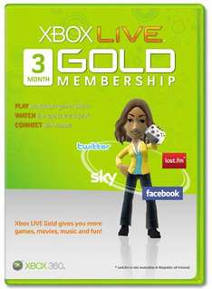 3 Months Xbox Live Gold Subscription - £11.69 Delivered *Using Voucher Code* @ Argos