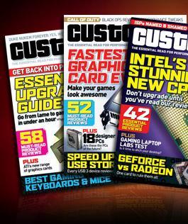 3 Issues of Custom PC Magazine Plus Free 26 Piece Toolkit For £1 @ Custom PC
