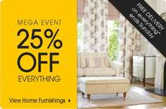 25% off Everything & Free delivery @ Laura Ashley