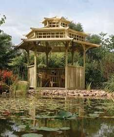 Oriental Pagoda - was £1777.95, now £1048.15 delivered @ Homebase