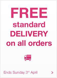 superdrug - free delivery until 4 april