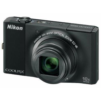 Nikon S8000 - Digital Camera In Black Or Silver - £139.99 Delivered @ Amazon