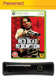 Xbox 360 Elite: 120GB With Red Dead Redemption (Pre-owned) - £94.99 @ Game