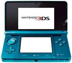 *PRE ORDER* Nintendo 3DS Console In Cosmos Black Or Aqua Blue - £187 Delivered @ Asda Entertainment