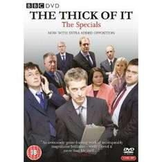 The Thick of It: Specials (DVD) - £4.99 @ Amazon & Play