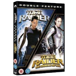 Lara Croft - Tomb Raider/Tomb Raider 2 - The Cradle Of Life DVD Set £5 at Play & Amazon