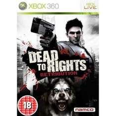 Dead To Rights: Retribution: Hmv Exclusive Sleeve For Xbox 360 - £9 Delivered @ HMV