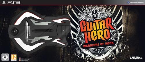 Guitar Hero: Warriors of Rock Guitar Bundle For Nintendo Wii & PS3 - £37.99 Delivered @ Game