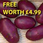 Receive 20 Tubers of Blue Danube Absolutely Free with Any Other Order for Potatoes @ Thompson & Morgan