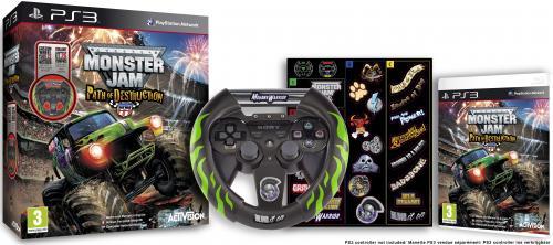 Monster Jam: Path of Destruction Bundle For PS3 - £17.85 Delivered @ Zavvi