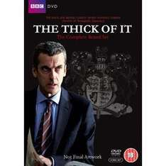 The Thick of It, Complete Box Set £10.96 with first-time order voucher @ PriceMinister/gzoop