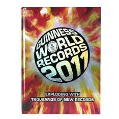 Guinness World Records 2011 [Hardcover] - £1.99 delivered @ Amazon