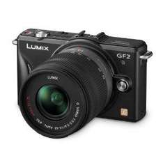 Panasonic Lumix GF2 Digital Camera with 14mm & 14-42mm Lenses - £539.99 Delivered @ Amazon