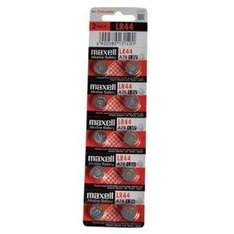 10 x Maxell LR44 Alkaline Batteries - £2.95 Delivered @ Amazon Sold By 246 Click