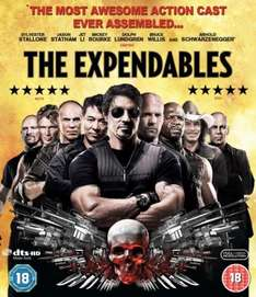 The Expendables On DVD - £5.85 Delivered @ Zavvi