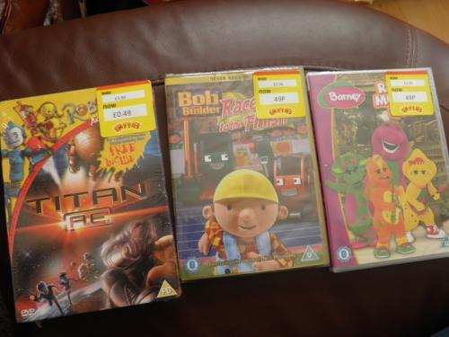 DVDs - 49p *Instore* @ Smyths Toys