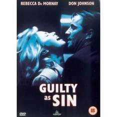 Guilty As Sin (DVD) - £2.39 @ Play & Amazon