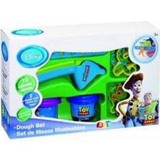 Disney Pixar: Toy Story: Disney Play Dough 10 Piece Extruder Set RRP £9.99 only £2.99 delivered @ Play (2 x 2oz dough tubs with moulds in the lids, 4 cutters, 1 playmat and 1 extruder with 2 stencils of shapes)