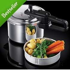 Russell Hobbs 4 litre pressure cooker - £15.00 instore and Online @ Asda