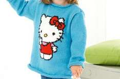 Free Hello Kitty Jumper Pattern @ Good To Know