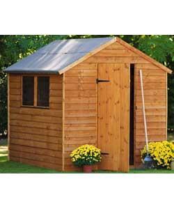 8 x 6 Overlap Wooden Garden Shed was £229.99 now £168.94 Delivered @ Homebase