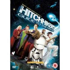 The Hitchhiker's Guide To The Galaxy (2005) (DVD) - £5.99 @ Amazon & Play
