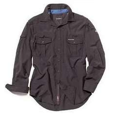 Craghoppers Brown insect repelling long sleeve shirt £15 @ Debenhams