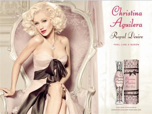 Free Christina Aguilera Royal Desire Perfume Sample @ Christina Aguilera Perfumes