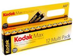 Kodak Max - AA (LR6 and MN1500) Pack of 12 - Buy 1 Get 1 Free - £4.49 Delivered @ 7 Day Shop