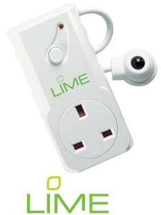Free Lime Energy Saving Plug - Infra Red Remote Control Plug @ Green Gadget