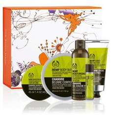 Back In Stock Hemp Gift Collection Body Shop £15 rrp £41.50