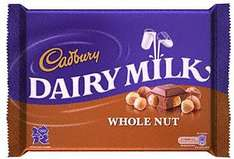 BIG 400g Cadbury Whole Nut £1.67 @ ASDA instore