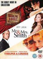 Girls Night In Box Set: Moulin Rouge / Mr And Mrs Smith / Thelma And Louise (DVD) - £3.99 @ Bee