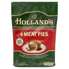 Hollands Pies 4pk, All Flavours Half Price at £1.24 @ Morrisons