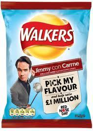 Walkers Jimmy con Carne Crisps 34.5g 10p @ B&M
