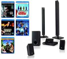LG HB805PH - 5.1Ch Blu Ray Home Cinema System & 5 Free Blu Rays - £254.99 Delivered @ Dixons
