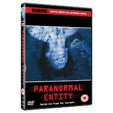 Paranormal Entity Dvd £2.99 @Amazon
