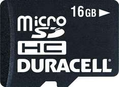 Duracell Micro SDHC Memory Card  16GB - Class 4 - £15.79 Delivered @ 7 Day Shop