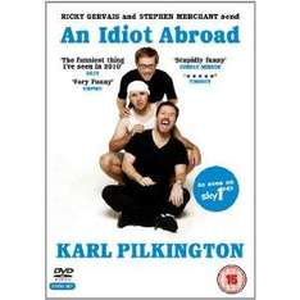 Karl Pilkington's An Idiot Abroad (DVD) (2 Disc) - £6.99 @ Amazon