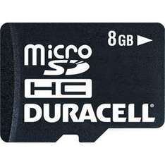 Duracell Micro Secure Digital (MicroSDHC) Memory Card - 8GB - £8.99 Delivered @ 7 Day Shop