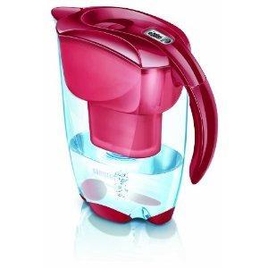 BRITA Elemaris Meter Cool Red Water Filter Jug  @Amazon £11.50