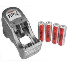 Hama AA & AAA Ni-Mh Battery Charger (Prima 2/4) with 4 x AA 2100 mAh Batteries - £3.99 Delivered @ 7 Day Shop