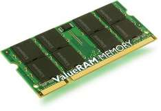 Kingston Value Laptop Memory (RAM) - SODIMM - DDR2 667Mhz (PC2-5300) CL5 - 1GB - £10.39 Delivered @ 7 Day Shop