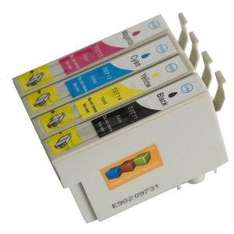 Epson Compatible T0715 (T711-T714) Full Set of High Yield Ink Cartridges - £3.50 Delivered @ Amazon