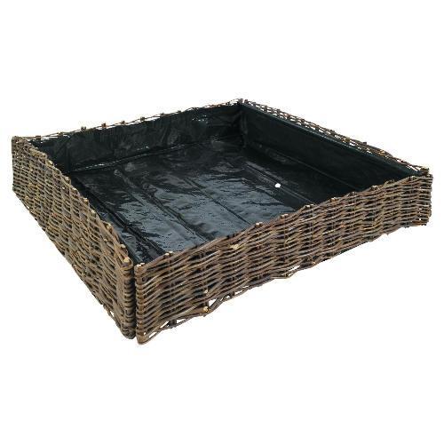 Willow Vegtable Planter 75X75X15Cm £12 @TescoDirect